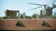 Absetzen per Hubschrauber: Soldaten des Kommandos Spezialkräfte (KSK) bei einer Übung an der Infanterieschule Hammelburg. (Archivaufnahme)