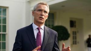 Stoltenberg: Nato will Beistandspflicht auf Weltraum ausdehnen