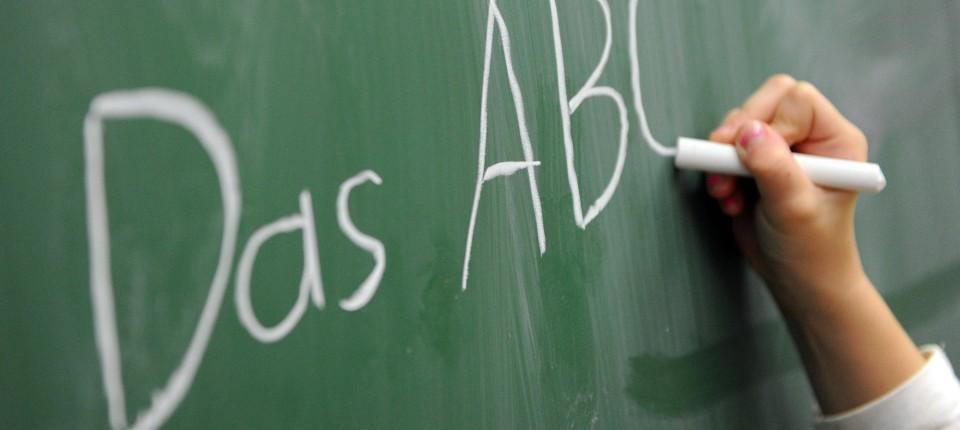 Bildungsvergleich Rechtschreibung Lehren