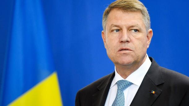Klaus Iohannis erhält Karlspreis 2020