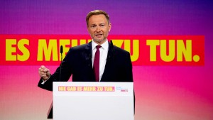 Lindner: Laschet nicht mit den Grünen allein  lassen