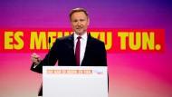 Lindner beim FDP-Parteitag: Laschet nicht mit den Grünen allein lassen
