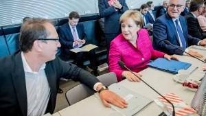 Welchen Rückhalt hat Merkel in der CDU?