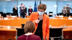 Kabinett billigt Einsatzverlängerung bis 2022