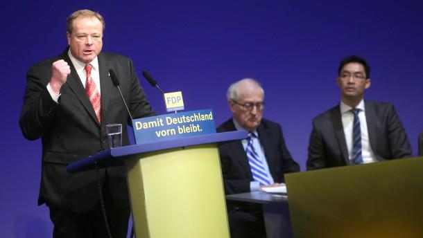 FDP Dreikönigstreffen Niebel