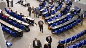 AfD verlässt Plenarsaal während Haushaltsdebatte