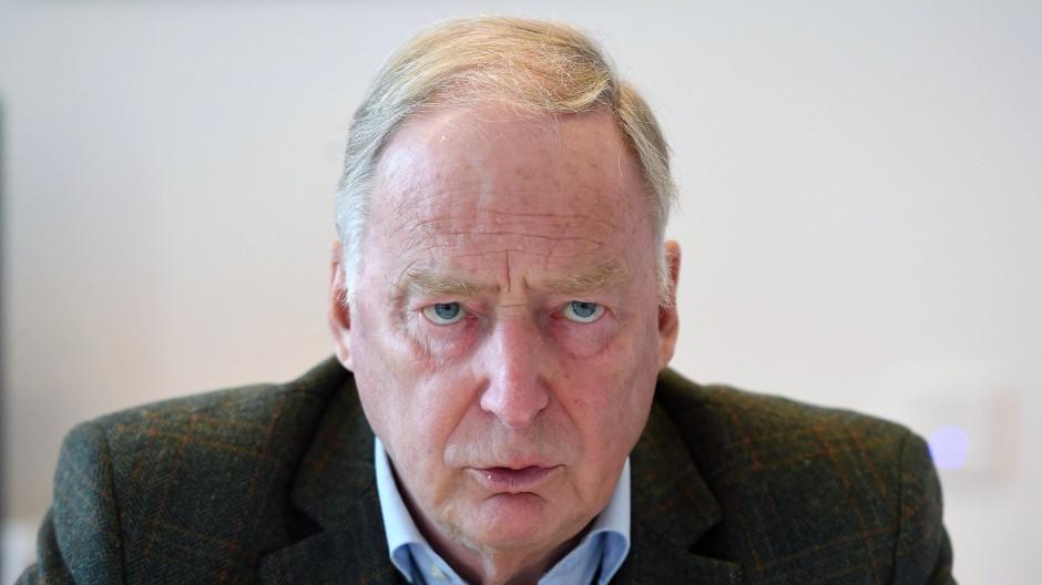 Der Vorsitzende der AfD-Fraktion im Landtag von Brandenburg, Alexander Gauland