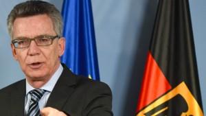 """De Maizière verbietet """"Tauhid Germany"""""""