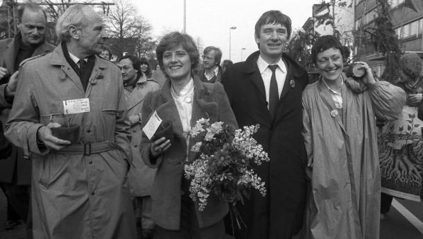 Gert Bastian, Petra Kelly, Otto Schily, Marieluise Beck-Oberdorf