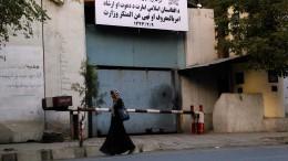Taliban wandeln Frauenministerium in Sitz der Religionspolizei um