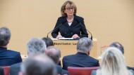 Charlotte Knobloch spricht zum Gedenkakt des Bayerischen Landtags und der Stiftung Bayerische Gedenkstätten für die Opfer des Nationalsozialismus – woraufhin die Fraktion der AfD den Saal verließ.