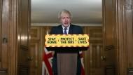 Bringt Großbritanniens Impf-Erfolge gegen Brüssel in Stellung: der britische Premierminister Boris Johnson