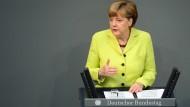 Merkel dämpft Erwartungen der östlichen Staaten