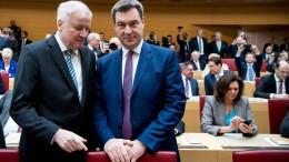 Seehofer kritisiert Kritiker aus der SPD