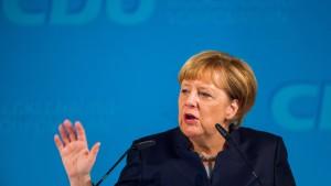 Merkel nennt AfD Nein-Sager-Partei