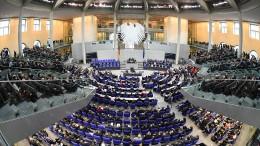 Bundestag kostet 2019 fast eine Milliarde Euro