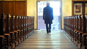 Kirchenaustritte auf Rekordniveau