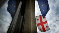 Wie bald Georgier ohne Visum nach Europa reisen dürfen, ist noch lange nicht klar.
