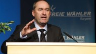 Auf die Regierung kann er jetzt nicht mehr schimpfen: Hubert Aiwanger auf der Landesdelegiertenkonferenz im Mai in Amberg