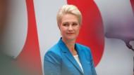 Klare Wahlsiegerin: Manuela Schwesig (SPD) am 27. September in Berlin