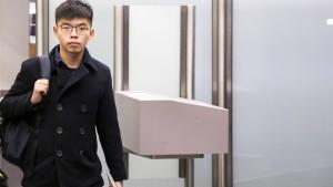 Wong hofft auf deutsche Unterstützung