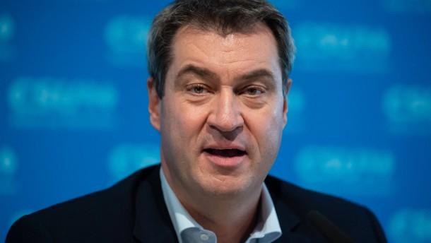 Vorerst keine Zwangshaft für Markus Söder