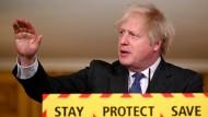 Johnson: Hinweise auf höhere Sterblichkeit bei britischer Coronavirus-Variante