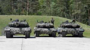 Trendwende bei  Nato-Ausgaben