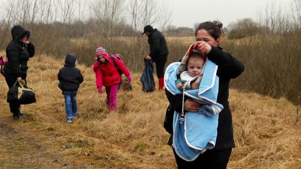 Großer Andrang von Asylbewerbern aus dem Kosovo