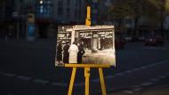 Berlin, Potsdamer Straße, November 2018: Erinnerung an das Verbrechen