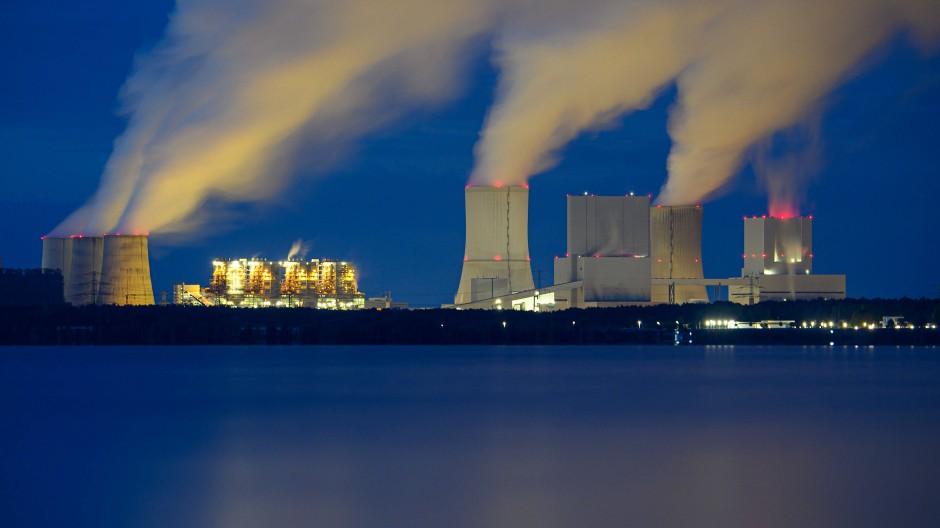 Das Kraftwerk Boxberg im Oktober 2010
