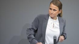 Bayerns AfD wählt Bundestagsabgeordnete zur Vorsitzenden