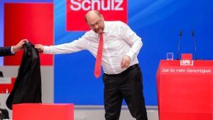 Schulz ist sauer auf die Union