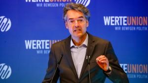 Früherer Chef der WerteUnion tritt aus Protest gegen Nachfolger aus