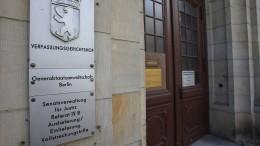 Generalbundesanwaltschaft übernimmt Ermittlungen