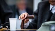 Verhandlungsunfähig: Seit November liegt der Angeklagte im Stutthof-Prozess im Krankenhaus und kann nicht an den Verhandlungen teilnehmen.