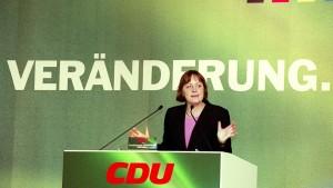 Merkel und die Wurzeln der CDU