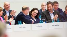 Nahles wird SPD-Chefin