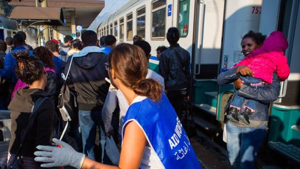 """Flüchtlingskrise: """"Niemand kann sie aufhalten"""""""