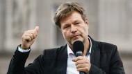 Livestream: Wie stimmt Habeck die Grünen auf den Wahlkampfendspurt ein?