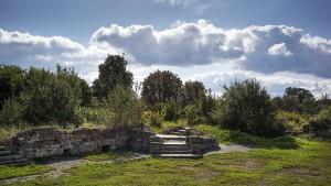 In den Ruinen von Küstrin