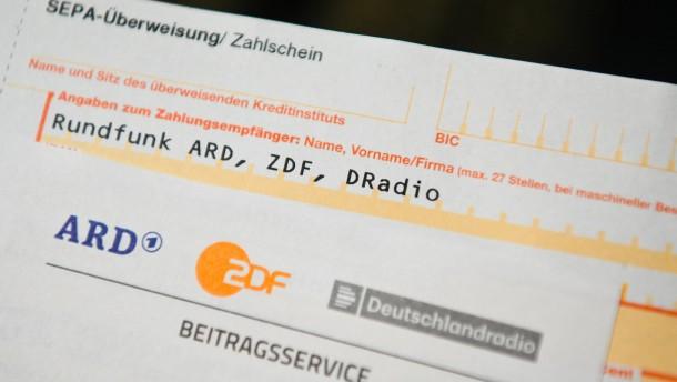 Rundfunkanstalten scheitern vor Verfassungsgericht