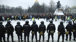 Zehntausende demonstrieren für Nawalnyj