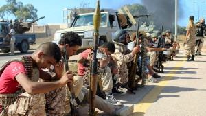 Regierungstruppen dringen ins Zentrum von Sirte vor