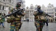 Maximale Terrorwarnstufe für Brüssel aufgehoben