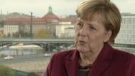 Bundeskanzlerin Merkel über den Regierungsbericht