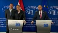 Orbán bezeichnet Flüchtlingskrise als deutsches Problem