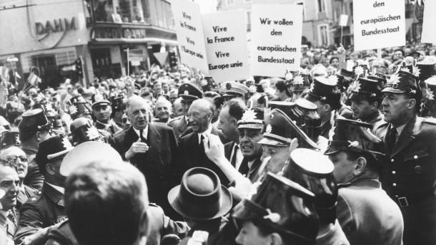 Adenauer und de Gaulle