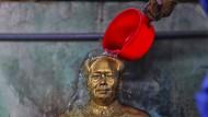 Büste von Mao Tse-tung