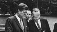 Kennedy mit McGeorge Bundy